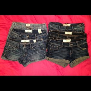 Abercrombie and Gilly Hicks Short Bundle